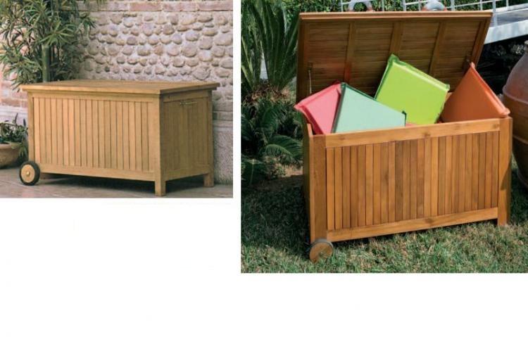 Cassapanca giardino legno design - Cassapanca esterno ...