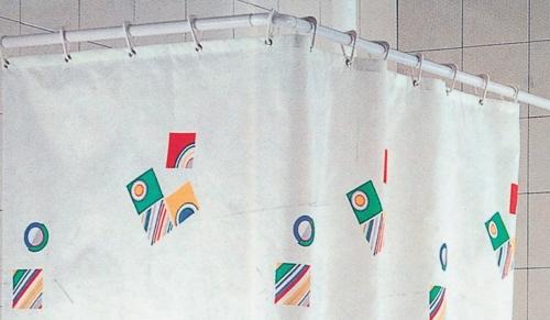 Supporti tende doccia decora la tua vita - Tende per doccia in lino ...