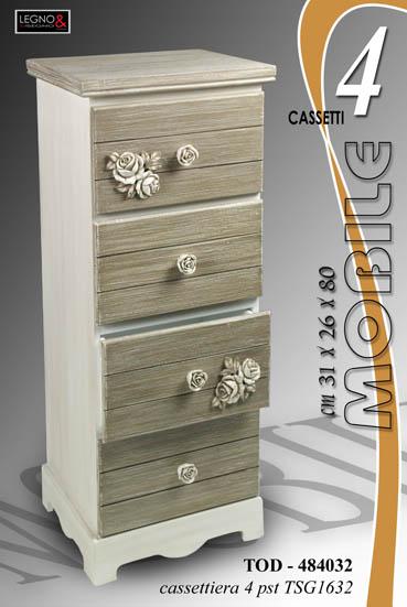 Pratiko storemobile cassettiera 4 cassetti pratiko store - Mobile con cassetti per cucina ...
