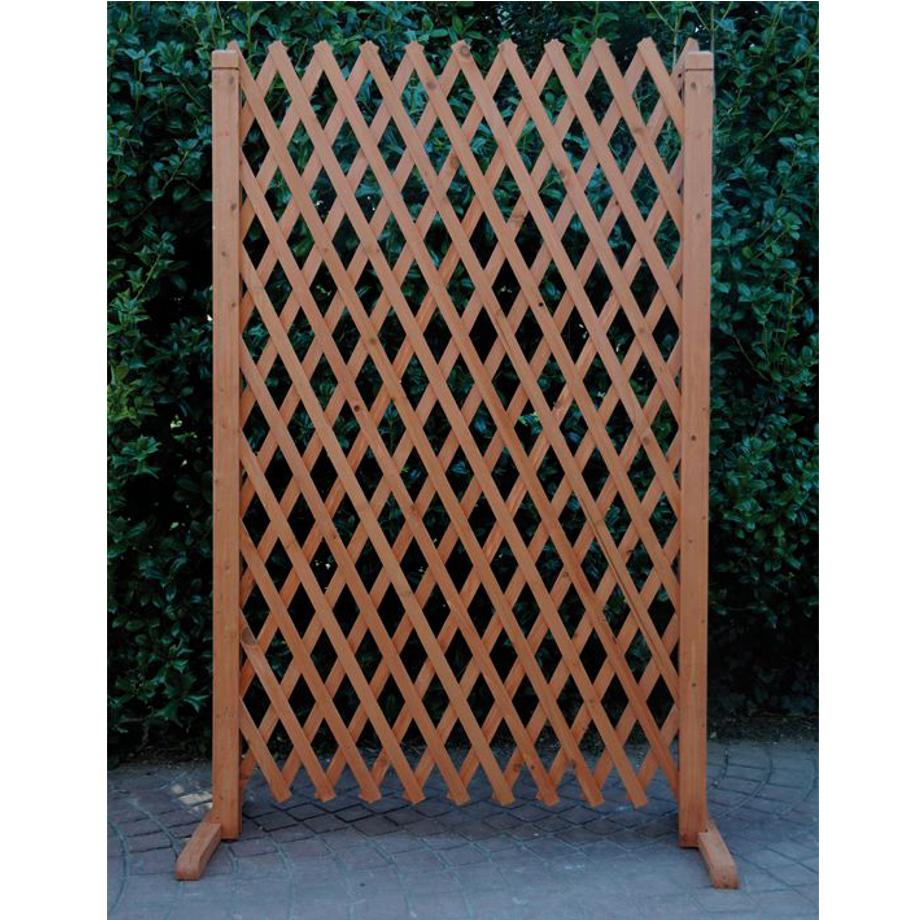 Grigliati estensibili in legno terminali antivento per for Grigliato leroy merlin