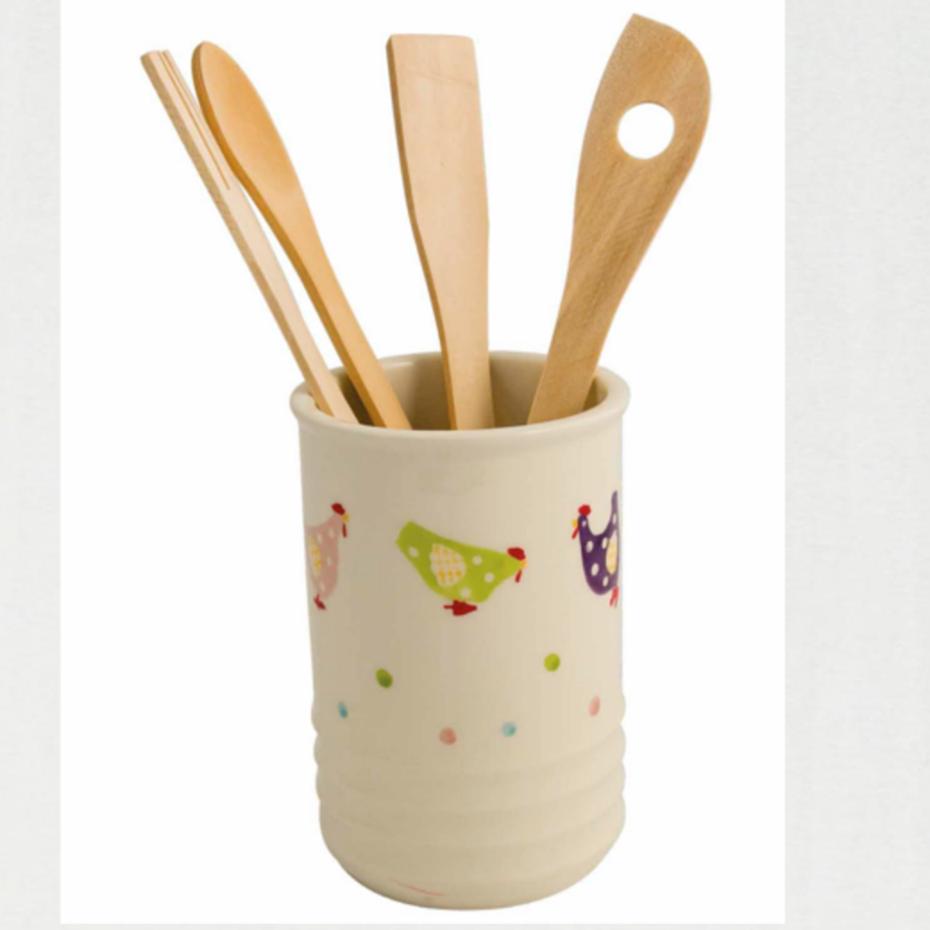 Pratiko storebicchiere porta utensili cucina happy farm for Utensili cucina online shop