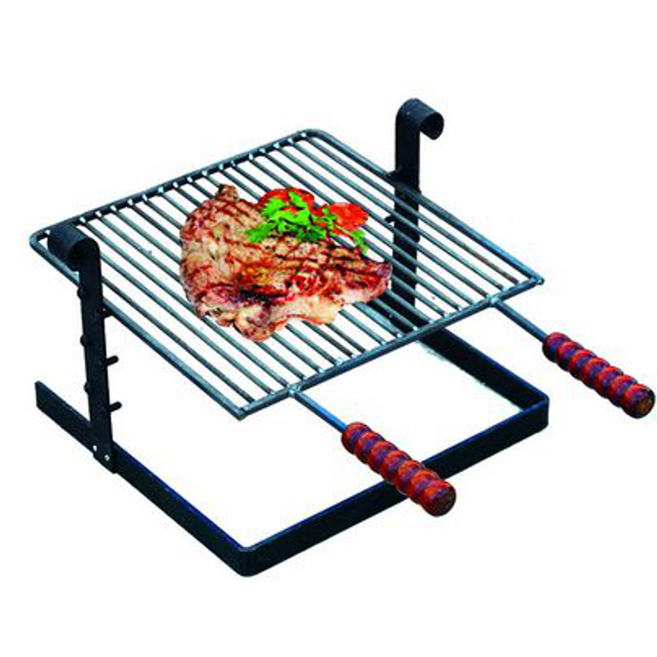 Pratiko storegriglia per barbecue in ferro battuto for Griglia per barbecue bricoman
