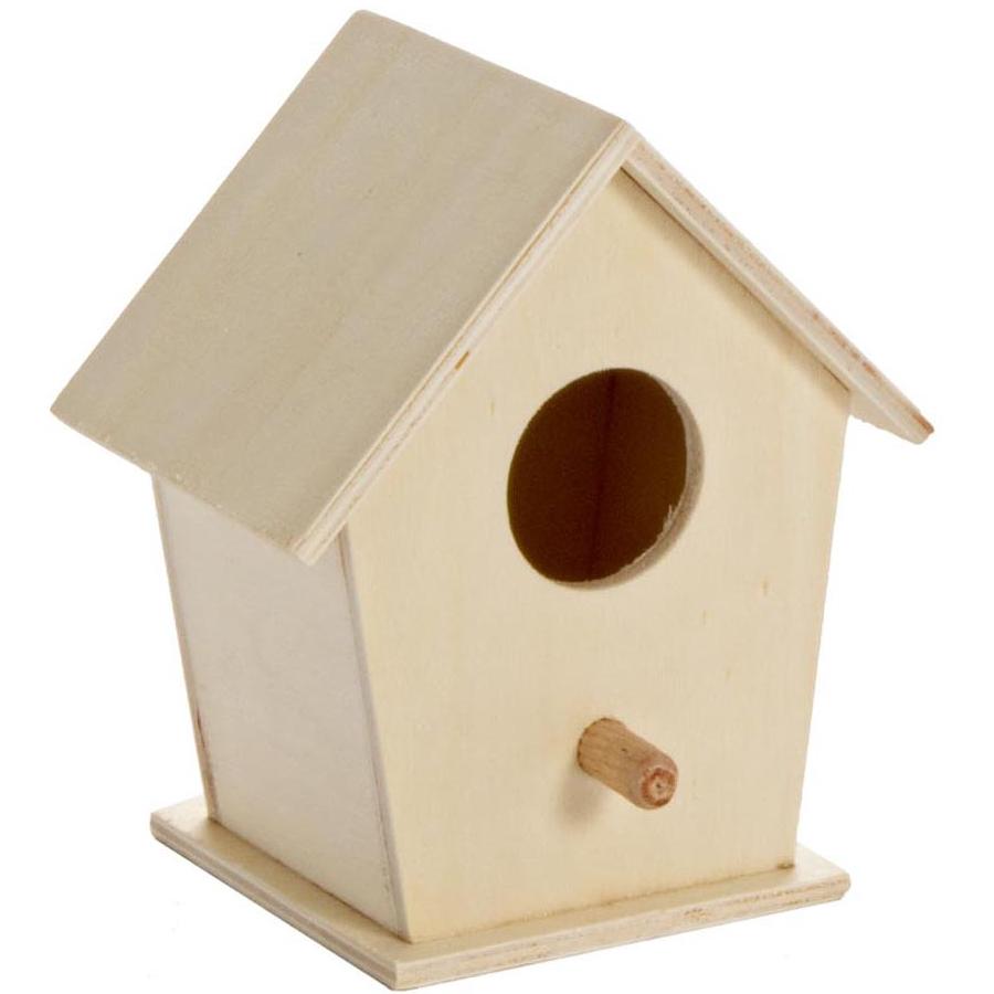 pratiko storecasetta legno per uccellini pratiko store