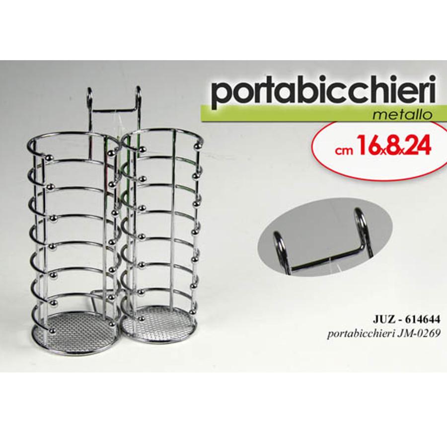 Pratiko storeporta bicchieri in metallo pratiko store - Porta bicchieri ...