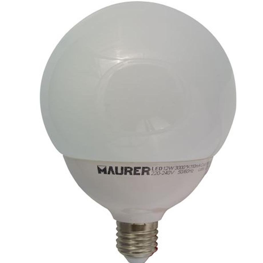 Pratiko storelampada a led globo maurer pratiko store for Lampada globo