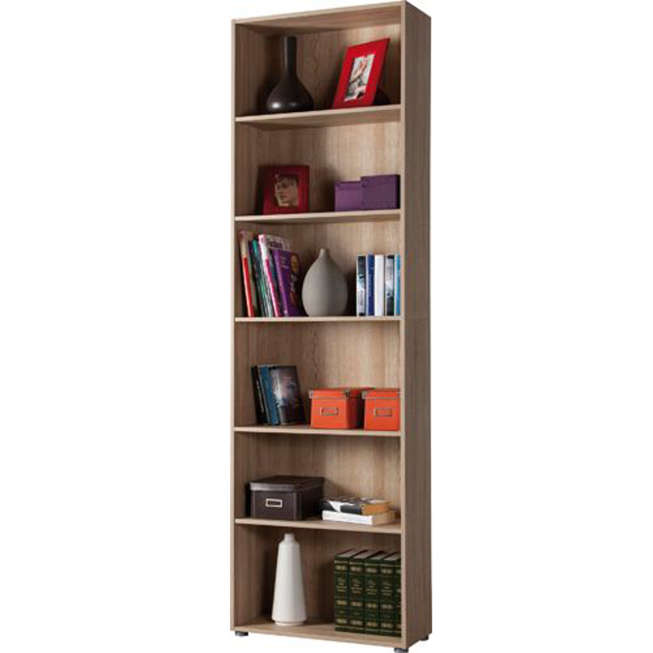 Pratiko storemobile libreria legno sonoma pratiko store for Mobile libreria legno