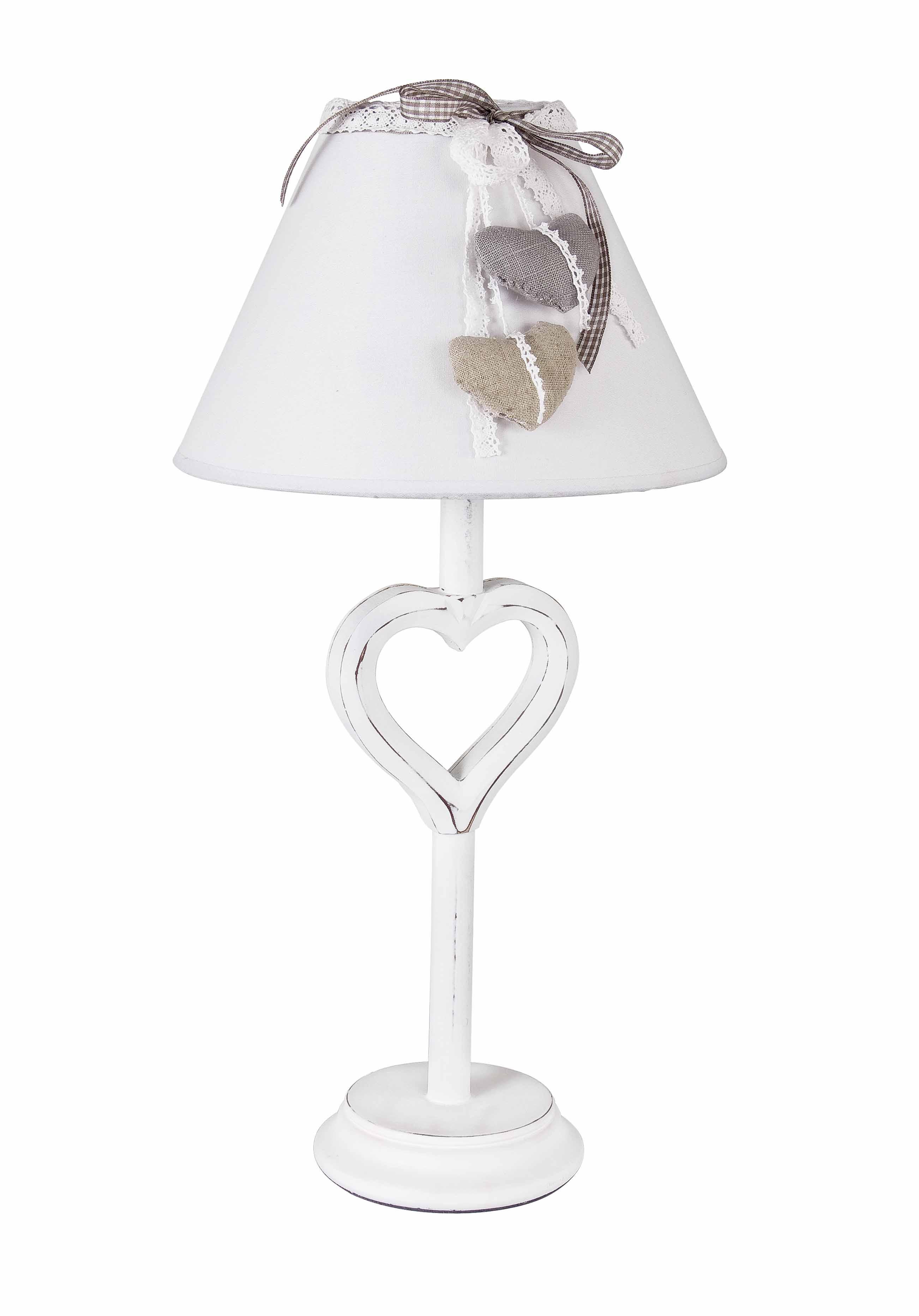 Lampada paralume heart legno bizzotto pratiko store - Lampada da tavolo legno ...