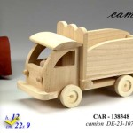 Camioncino in Legno Decorabile per Decoupage