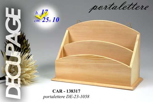 Lampadario In Legno Wood Mania : Portalettere legno decorabile pratiko store