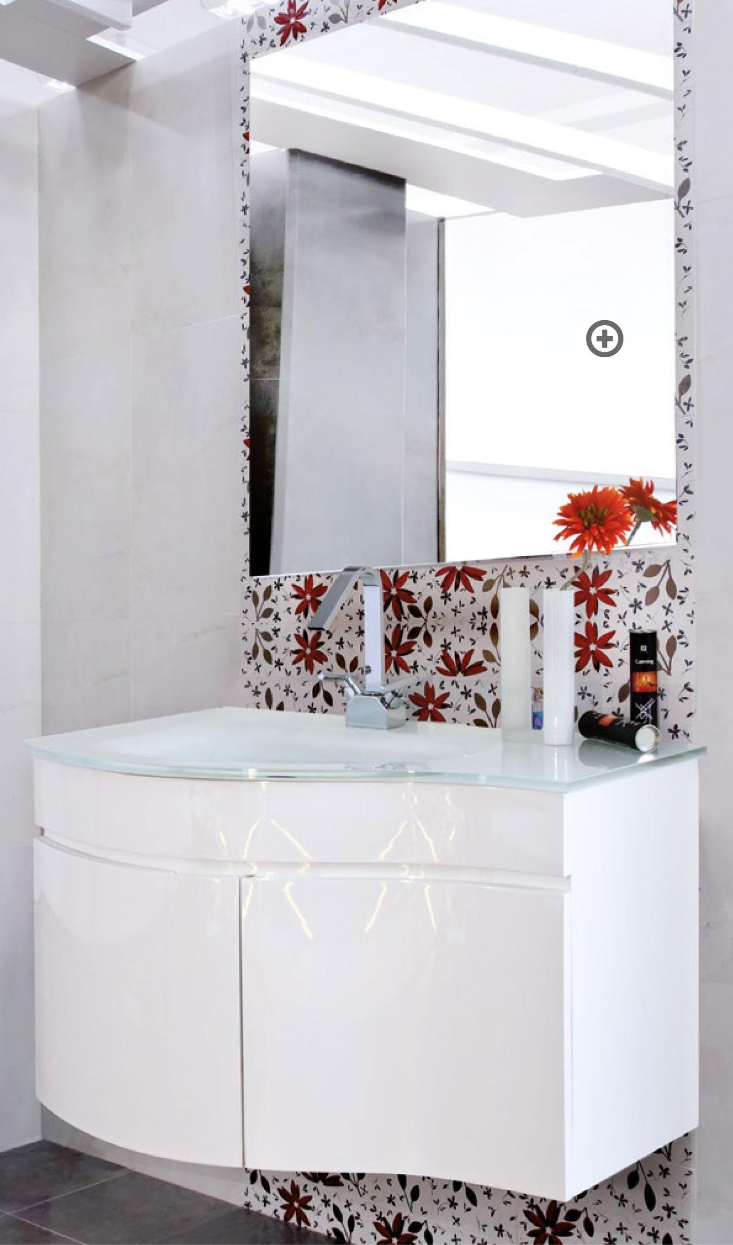Mobile bagno dalia bianco pratiko store - Mobile bianco bagno ...