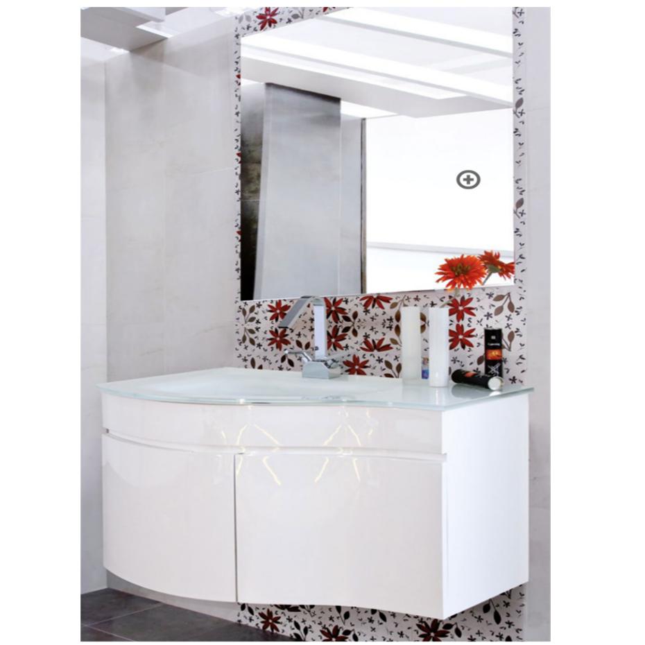 Mobile bagno dalia bianco pratiko store - Mobili del bagno ...