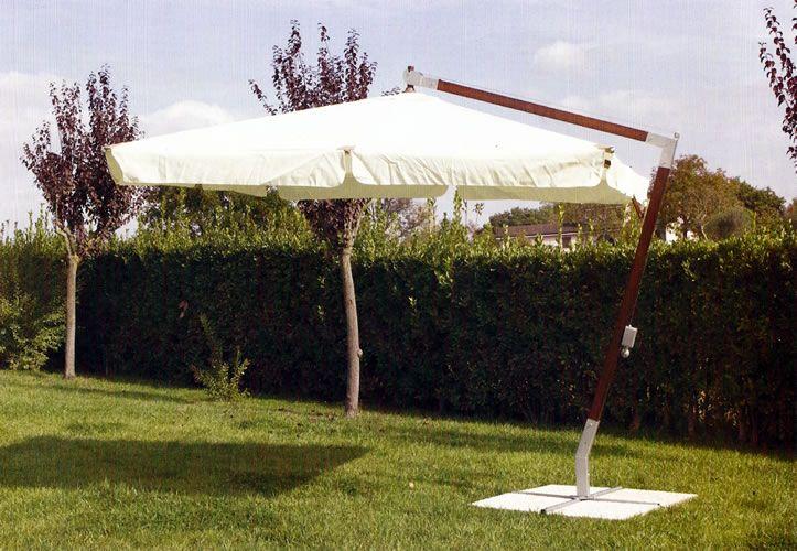 Ombrellone decentrato aster lusso pratiko store - Ombrellone da giardino decentrato 3x4 ...