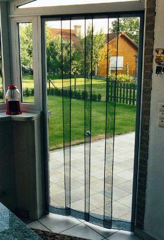 Zanzariera a pannelli verticali pratiko store for Tende zanzariere leroy merlin