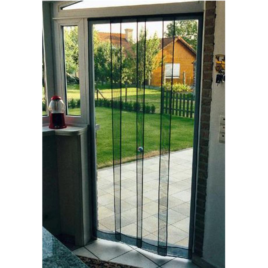 Zanzariera a pannelli verticali pratiko store for Finestra scorrevole verticale