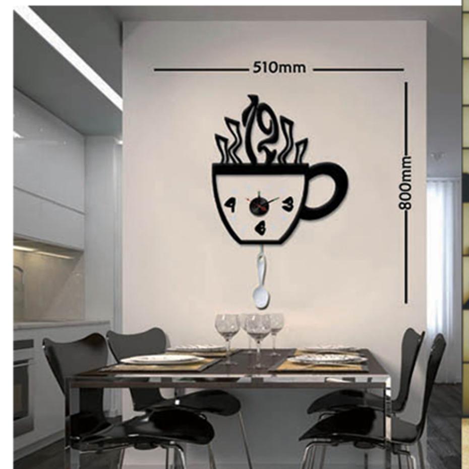 Orologio da parete dibys con stickers pratiko store for Stickers da parete ikea