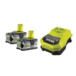 Kit 2 Batterie al Litio 18V + Caricabatterie One +