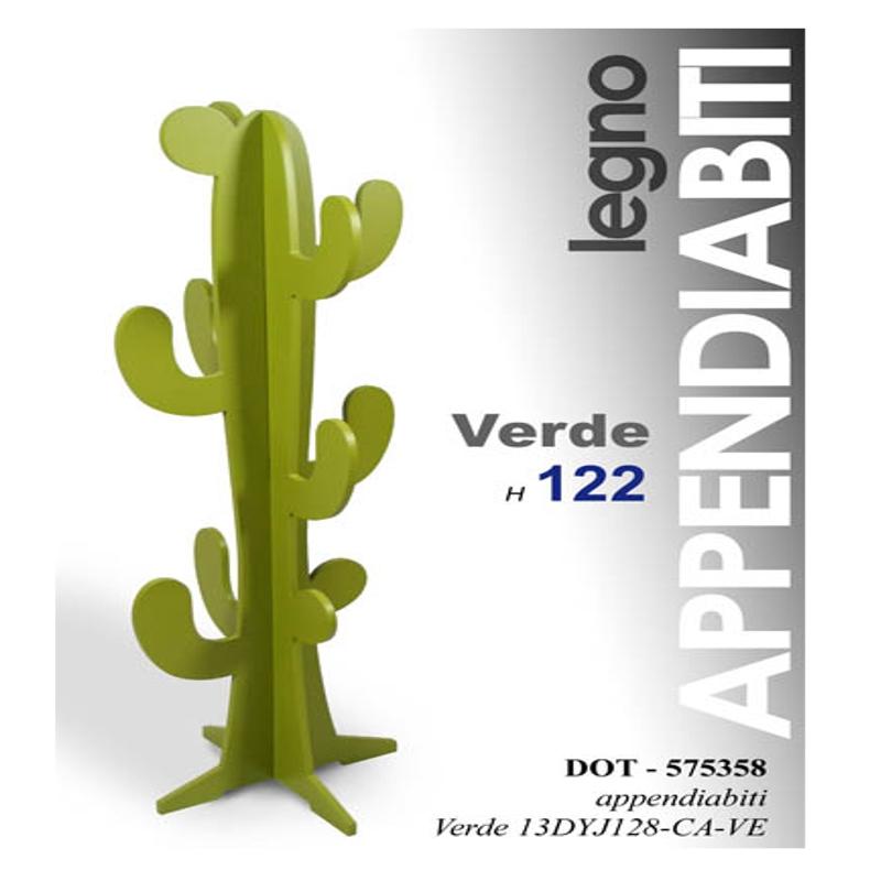 Attaccapanni Stelo.Appendiabito Cactus Pratiko Store