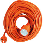 Prolunga Elettrica da Giardino Cavo elettrico da 25 mt. ideale portare elettricità ad attrezzature elettriche da giardino (Rasaerba, decespugliatori, tagliasiepi)