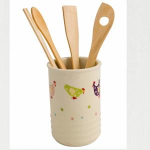 Bicchiere porta utensili cucina happy farm pratiko store for Utensili cucina online shop
