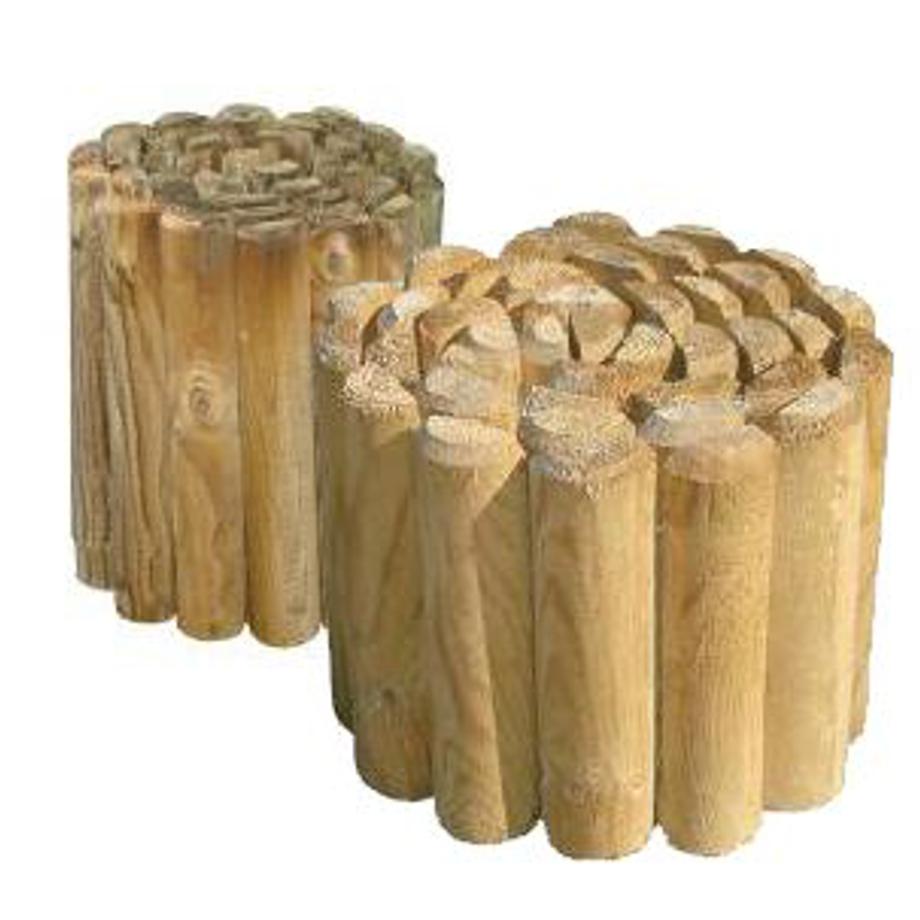 Recinzione in legno impregnato rollborder pratiko store for Recinzione legno
