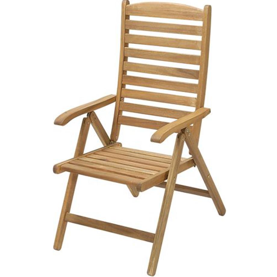 Sedia reclinabile in legno miele con braccioli boston for Sedia a dondolo reclinabile
