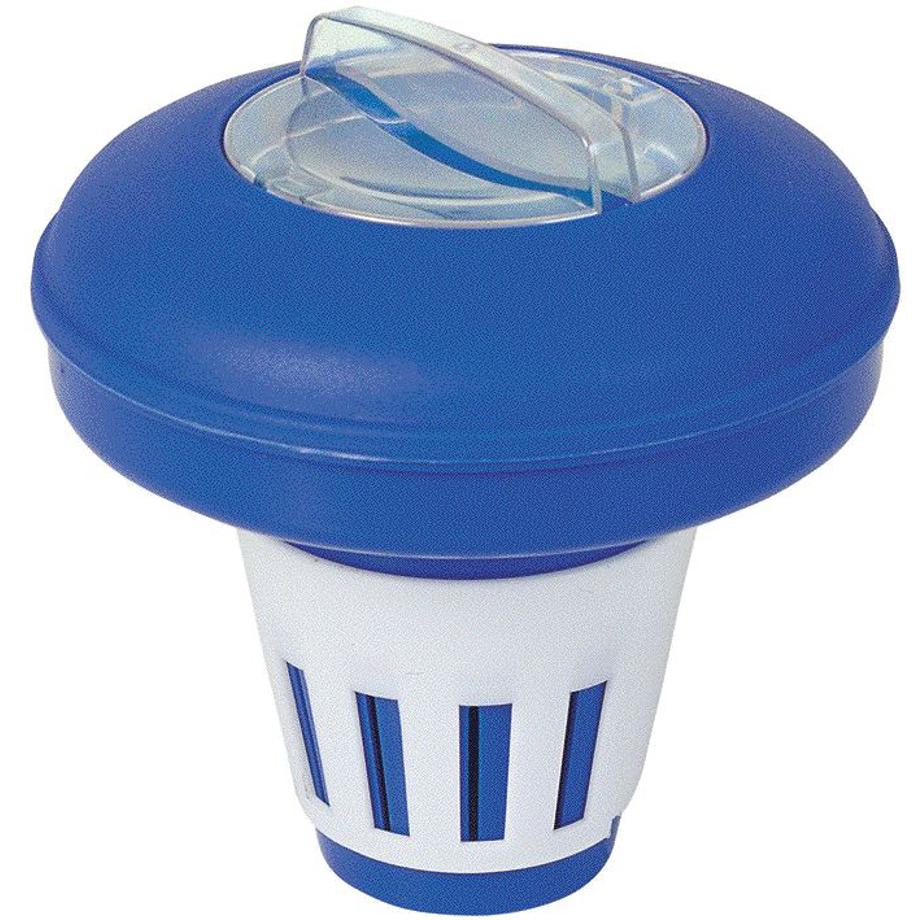 Distributore galleggiante cloro in pasticche per piscina - Cloro in piscina ...