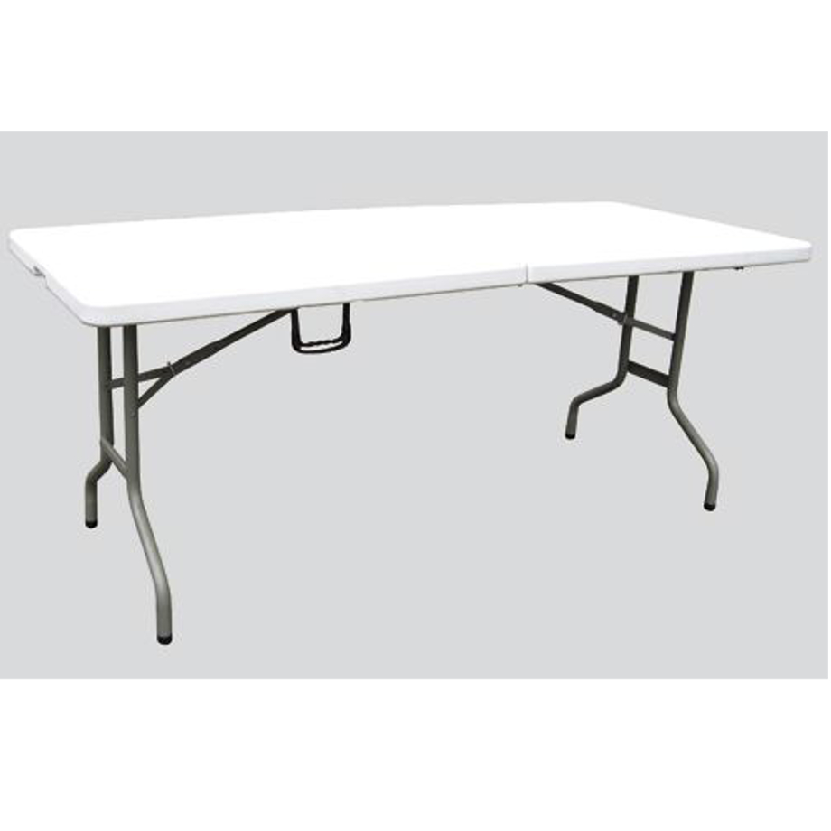 Tavolo resina pieghevole bianco pratiko store - Tavolo pieghevole con maniglia ...