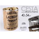Cesta Portabiancheria Deluxe Laundry