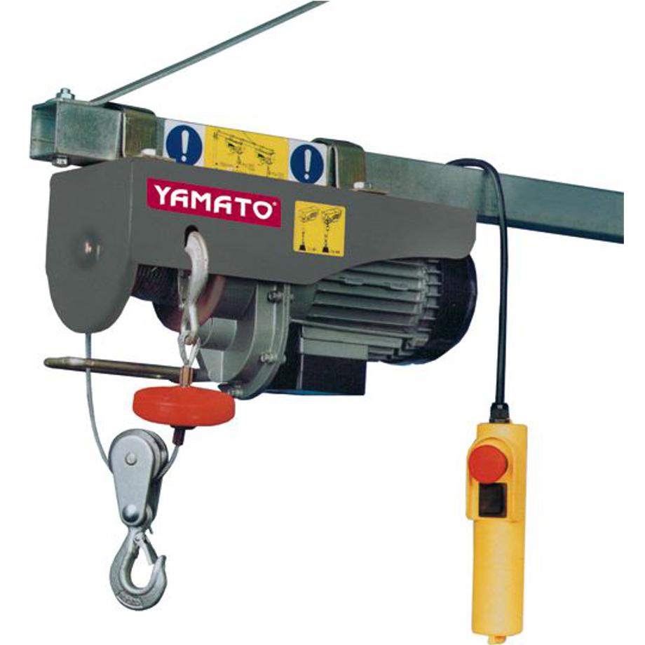 Paranco elettrico a fune yamato 125 250 kg pratiko store - Portata cavo elettrico ...