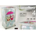 Mobile Cassettiera 4 cass