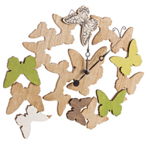 Orologio da Parete Butterfly Hollis