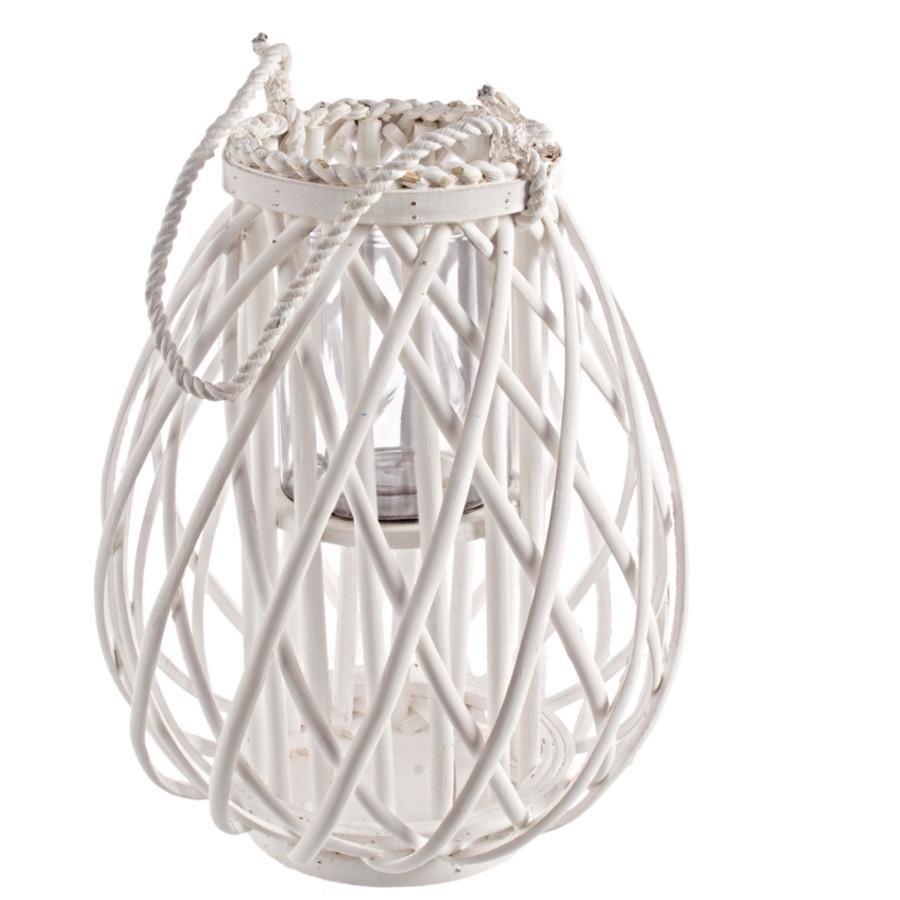 Lanterna isabel bianco pratiko store for Lanterne arredo