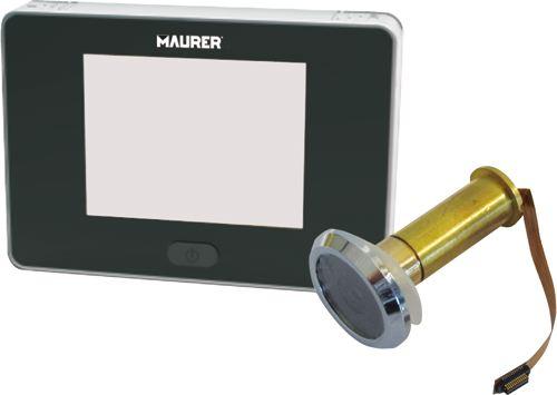 Spioncino digitale con telecamera maurer pratiko store - Spioncino porta con telecamera ...