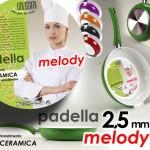 Padella Alluminio Melody Rivestimento in Ceramica