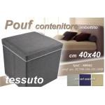 Pouf Contenitore Cm.40x40