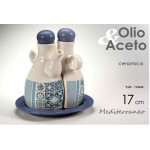 Set Condimento Mediterraneo Olio Aceto