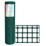 Rete Plastificata Maglia 12,7x12,7 Filo 0,9
